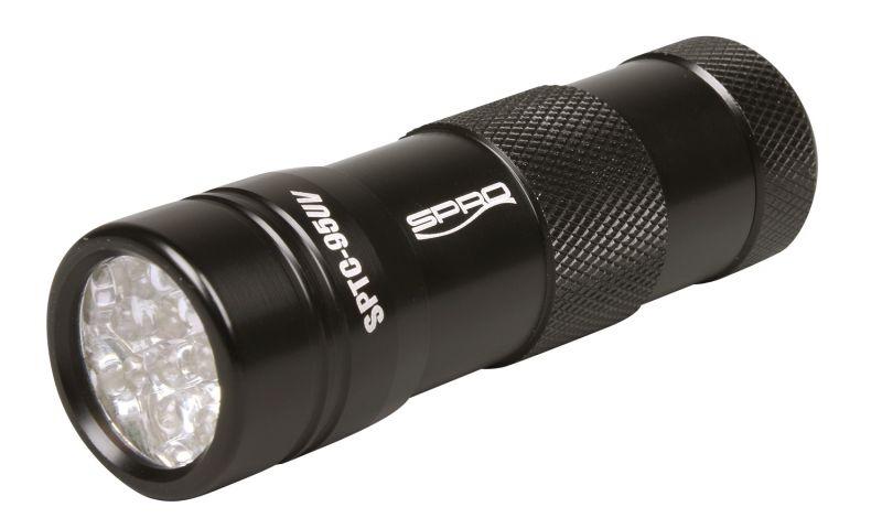 Spro 12-LED UV-Flash Torch SPLC95UV noir