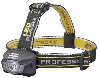 Spro Cool White LED Head Lamp SPHL150RU noir - jaune
