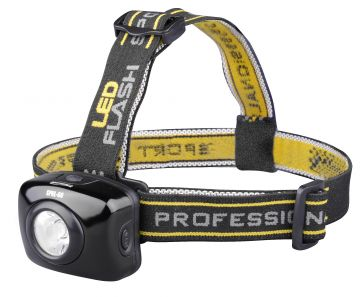 Spro LED Head Lamp SPHL60 zwart - geel lamp