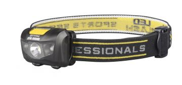 Spro LED Head Lamp SPHL80RWR zwart - geel lamp