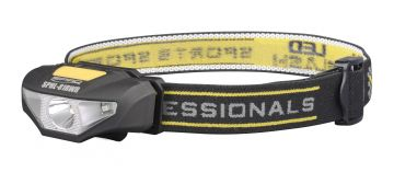 Spro LED Head Lamp SPHL81RWR noir - jaune