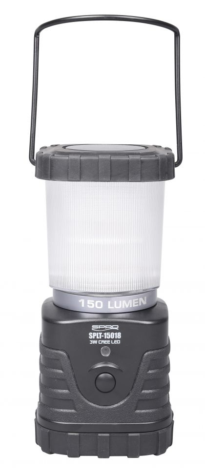 Spro LED Lantern 180mm SPLT15018 zwart lamp