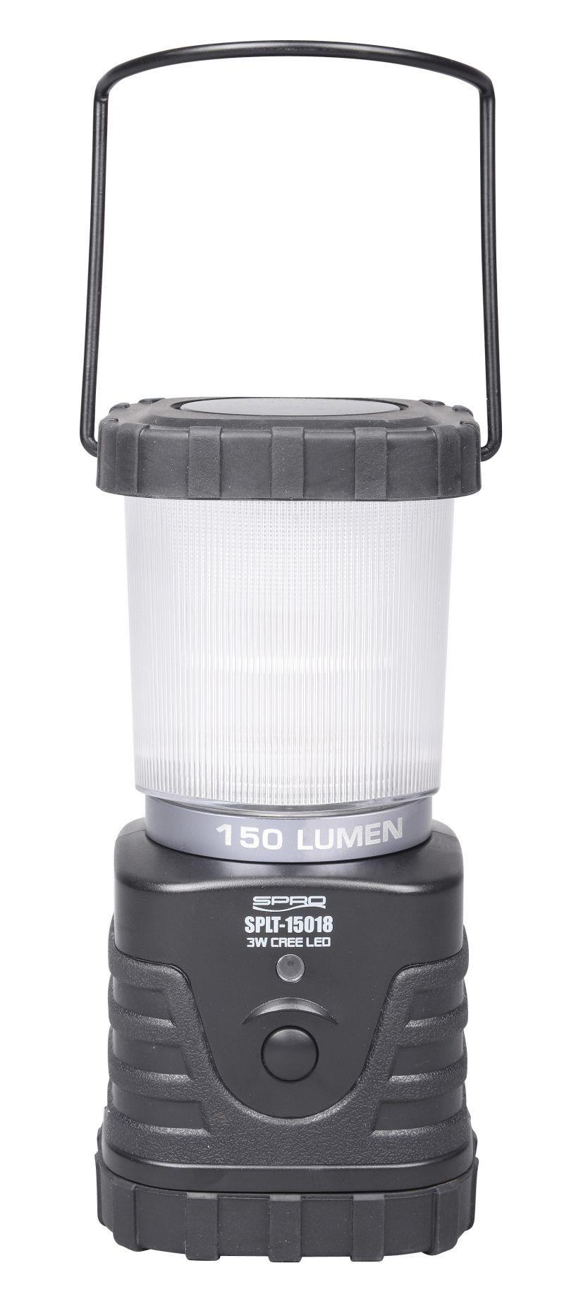 Spro LED Lantern 180mm SPLT15018 zwart lamp