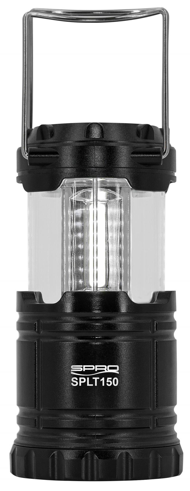 Spro LED Lantern SPLT150 zwart lamp
