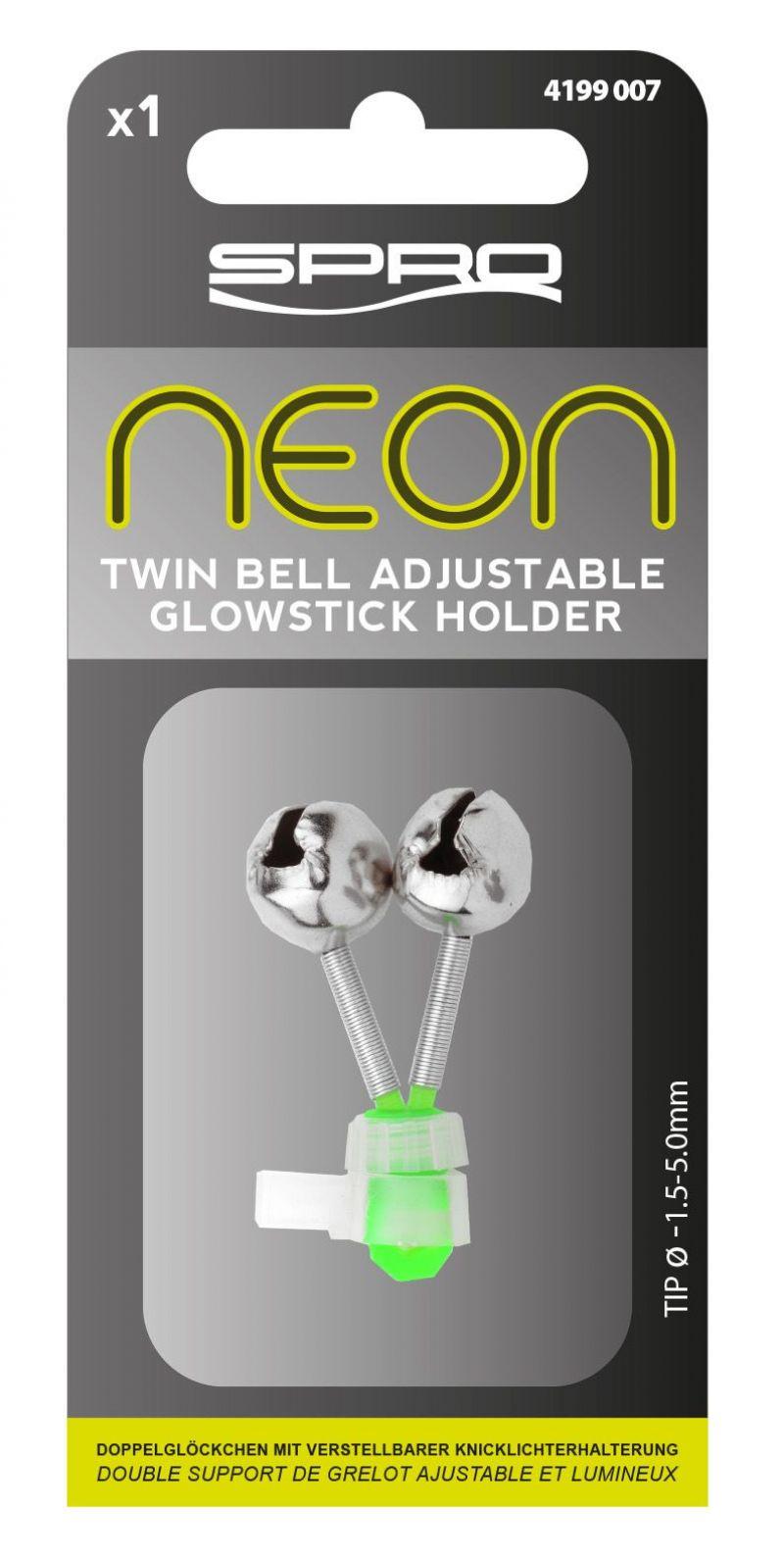 Spro Neon Adjustable Double Bell Holder groen verschillend artikel