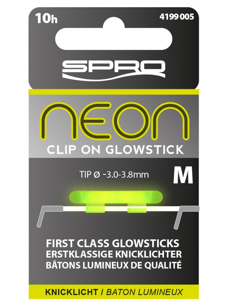 Spro Neon Clip On Glow Sticks groen lamp Medium