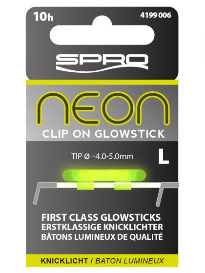Spro Neon Clip On Glow Sticks groen lamp Large