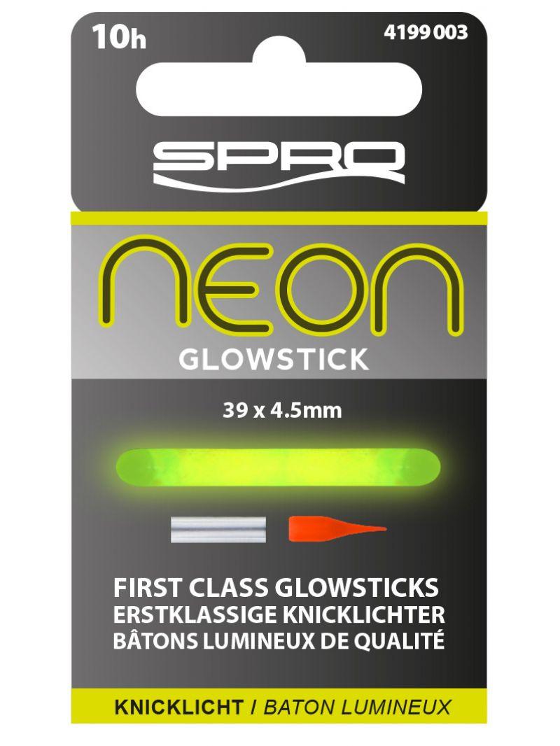 Spro Neon Glow Sticks vert  4.50mm