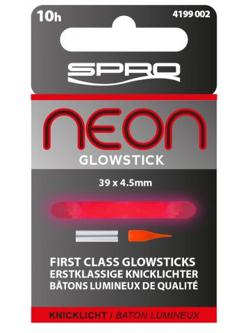 Spro Neon Glow Sticks rood lamp 4.50mm