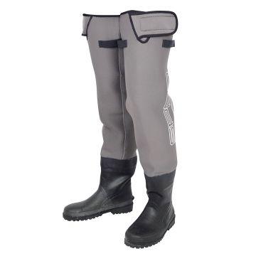 Spro Neoprene Hip Waders gris - noir  M45