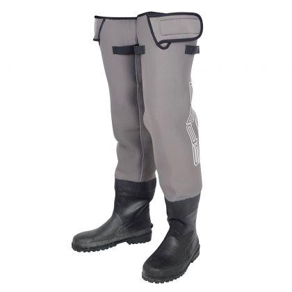 Spro Neoprene Hip Waders gris - noir  M46