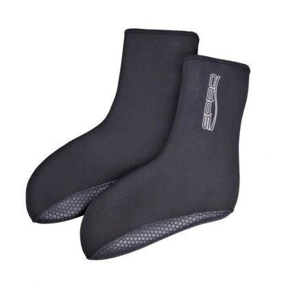 Spro Neoprene Socks Deluxe zwart kous M44-m45