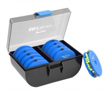 Spro Rig Box zwart - blauw zeevis klein vismateriaal