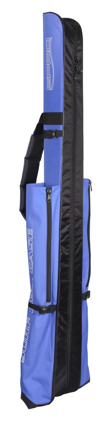 Spro Surf Rod Hard Case 165 zwart - blauw - wit zeevis zeevistas