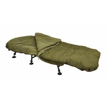 Starbaits 3S Sleeping Bag groen slaapzak visbed 225x100x12cm