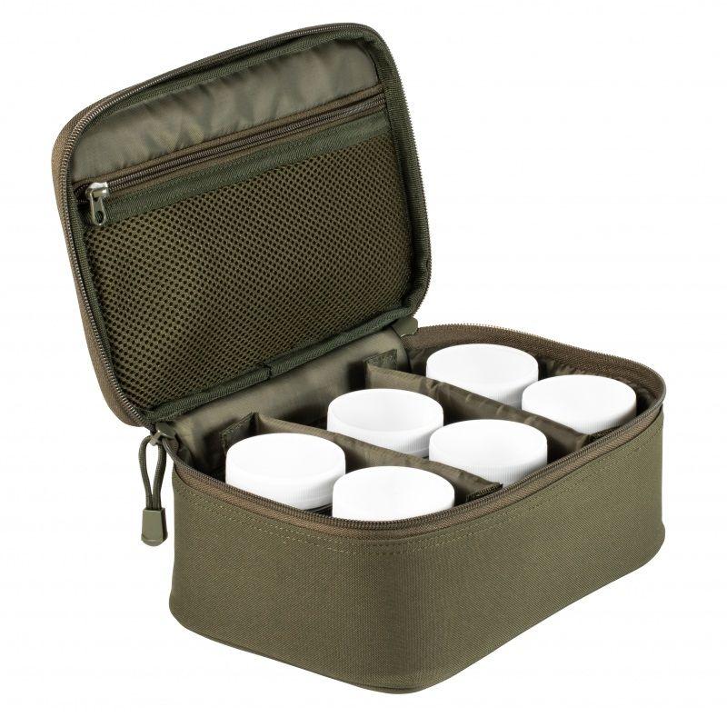 Starbaits SB Pro Hookbait & Dip Bag groen karper karpertas