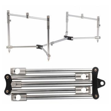 Starbaits Solidz Pod FR 3 Rods zilver rodpod 9cm