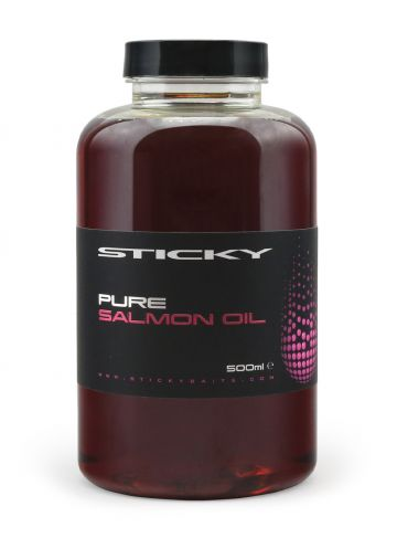 Sticky Baits Pure Salmon Oil rood aas liquid 500ml
