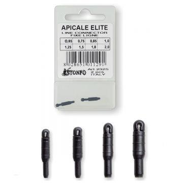Stonfo Apicale Elite zwart - blauw klein vismateriaal 1.25mm