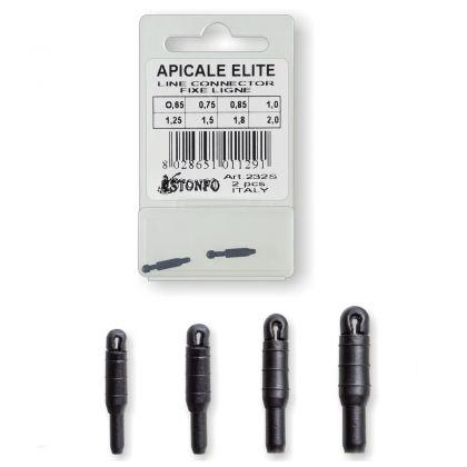 Stonfo Apicale Elite zwart - blauw klein vismateriaal 1.50mm