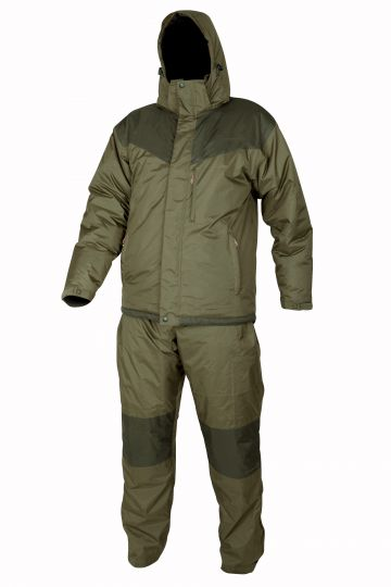 Strategy 3 in 1 Thermal Suit bruin - groen warmtepak Small
