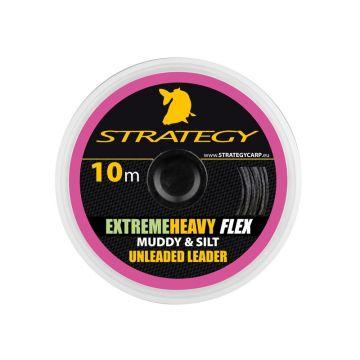 Strategy Extreme Heavy Flex silt karper draad voor onderlijn 40lb 10m