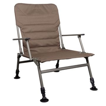 Strategy Foresta 51+ Chair bruin - groen visstoel karperstoel 55x52x50cm