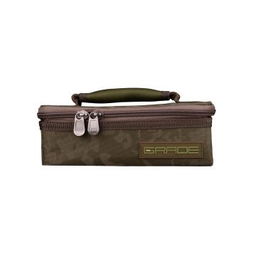 Strategy GRADE Lead & Accessory Pouch M groen karper karpertas 12x21.5x7.5cm