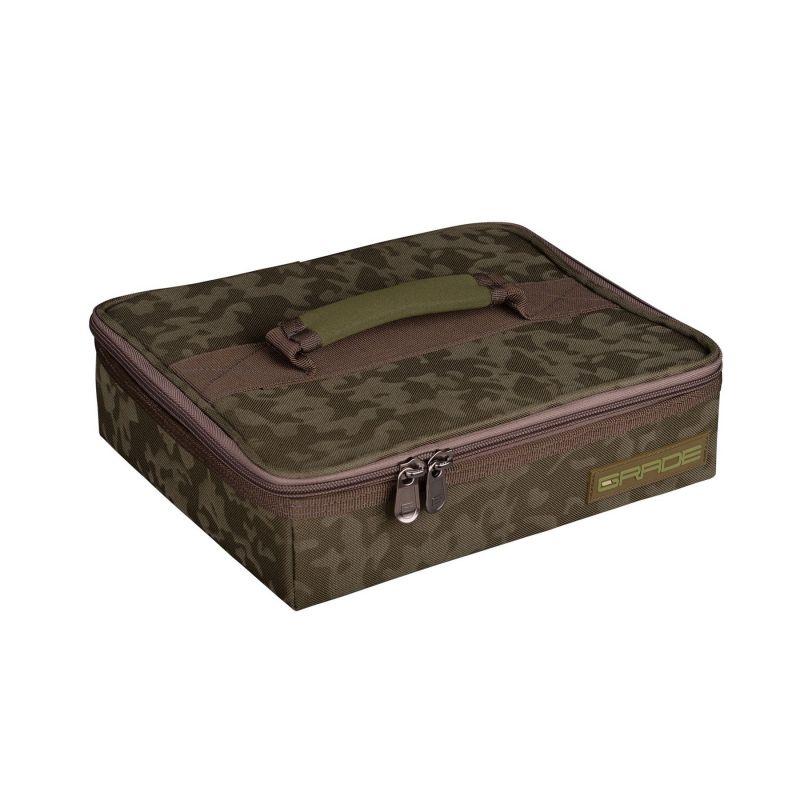 Strategy GRADE Tackle Bag groen karper karpertas 23x26x7cm