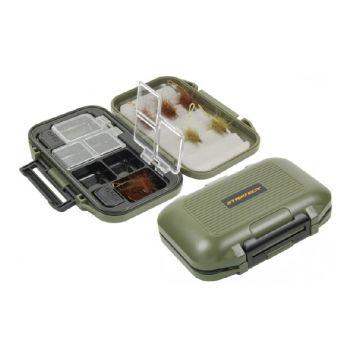 Strategy Hardcase Accessory Box zwart - groen karper visdoos