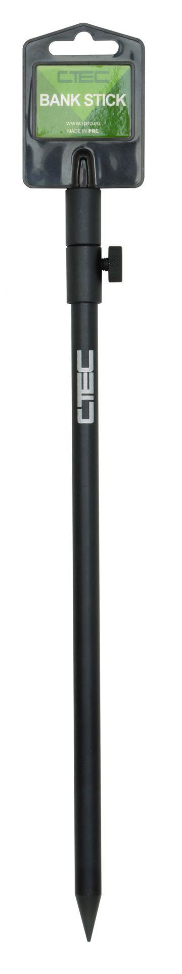 Strategy Matt Black Bankstick zwart bankstick 50-90cm