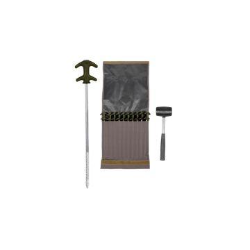 Strategy Outback Easy Grab Peg Set groen - zilver karper tent accessoire