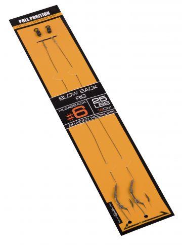Strategy Pole Position Blow Back Rig bruin - zilver karper karper onderlijn H4 25lb