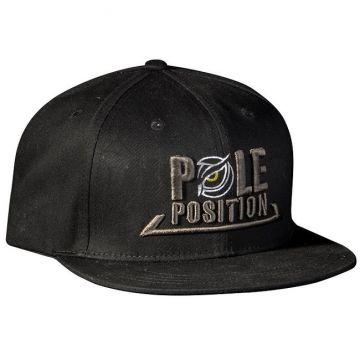 Strategy Pole Position Flat Cap zwart pet Uni