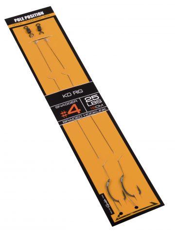 Strategy Pole Position KD-Rig bruin - zilver karper karper onderlijn H4 25lb