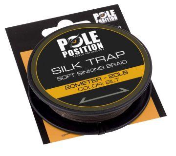 Strategy Silk Trap Soft Sinking Braid silt karper draad voor onderlijn 20lb 20m