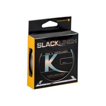 Strategy Slackliner Snag & Shock Leader Hybrid clear karper visdraad 0.55mm 80m