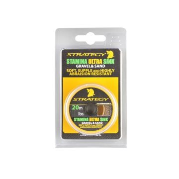 Strategy Stamina Ultra Sink silt karper klein vismateriaal 35lb 20m