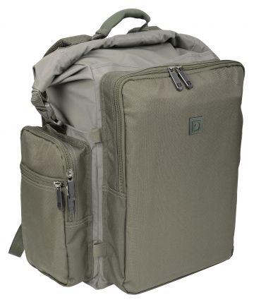 Strategy Waterproof Backpack groen - bruin karper karpertas 45x40x28cm