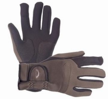 Sundridge Hydra Super Stretch Full Finger Glove bruin - zwart handschoen Large