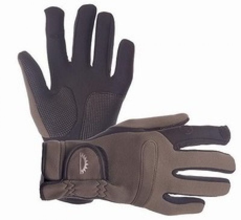 Sundridge Hydra Super Stretch Full Finger Glove bruin - zwart handschoen X-large