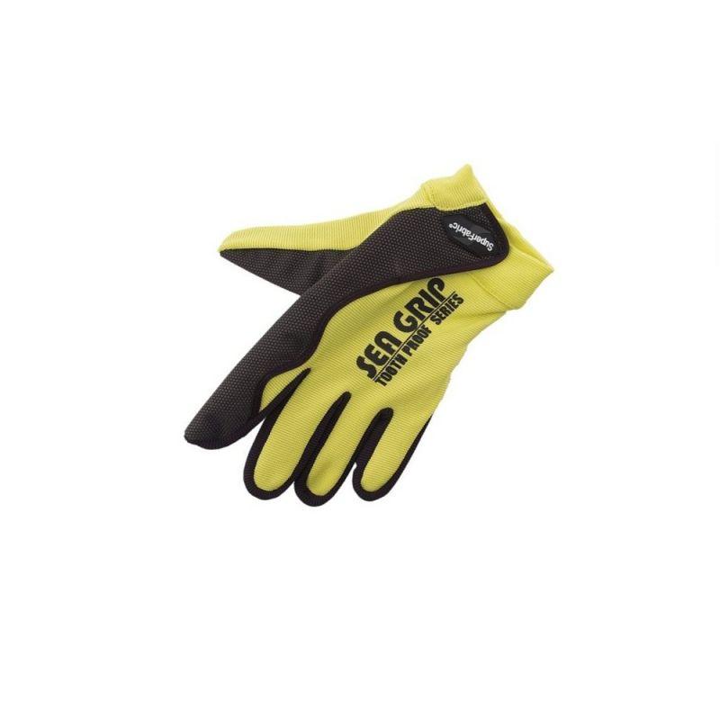 Sundridge Sea-Grip Tooth Proof zwart - geel handschoen Right
