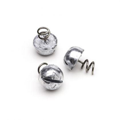 Svartzonker Screw-In Dots metaal roofvis vislood 6g