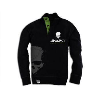 Sweaters Gunki zwart - groen vistrui M