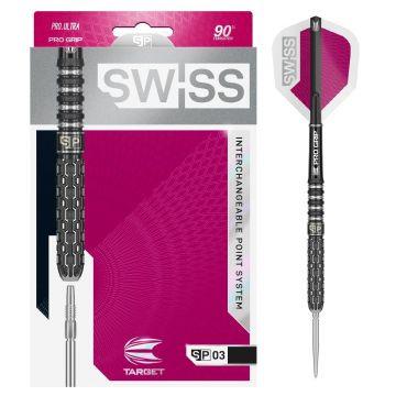 Target Swiss SP03 90% zwart - zilver 22g