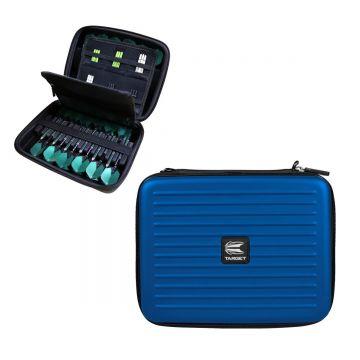 Target Takoma Home Wallet zwart - blauw 20x24x7cm