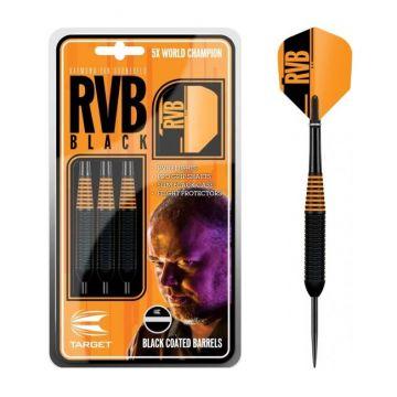 Target Van Barneveld RVB Black Brass zwart - oranje 24g