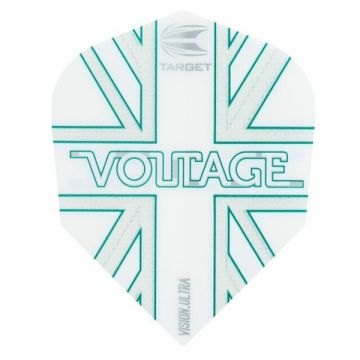 Target Vision Player Rob Cross Voltage Std. 6 wit - groen 100 Micron