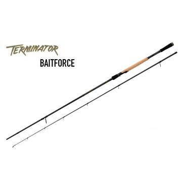 Foxrage Terminator Bait Force zwart - bruin roofvis spinhengel 2m40 30-80g