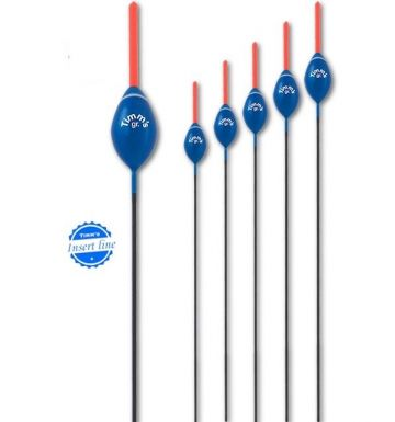 Timms Roberto blauw witvis visdobber 0.20g